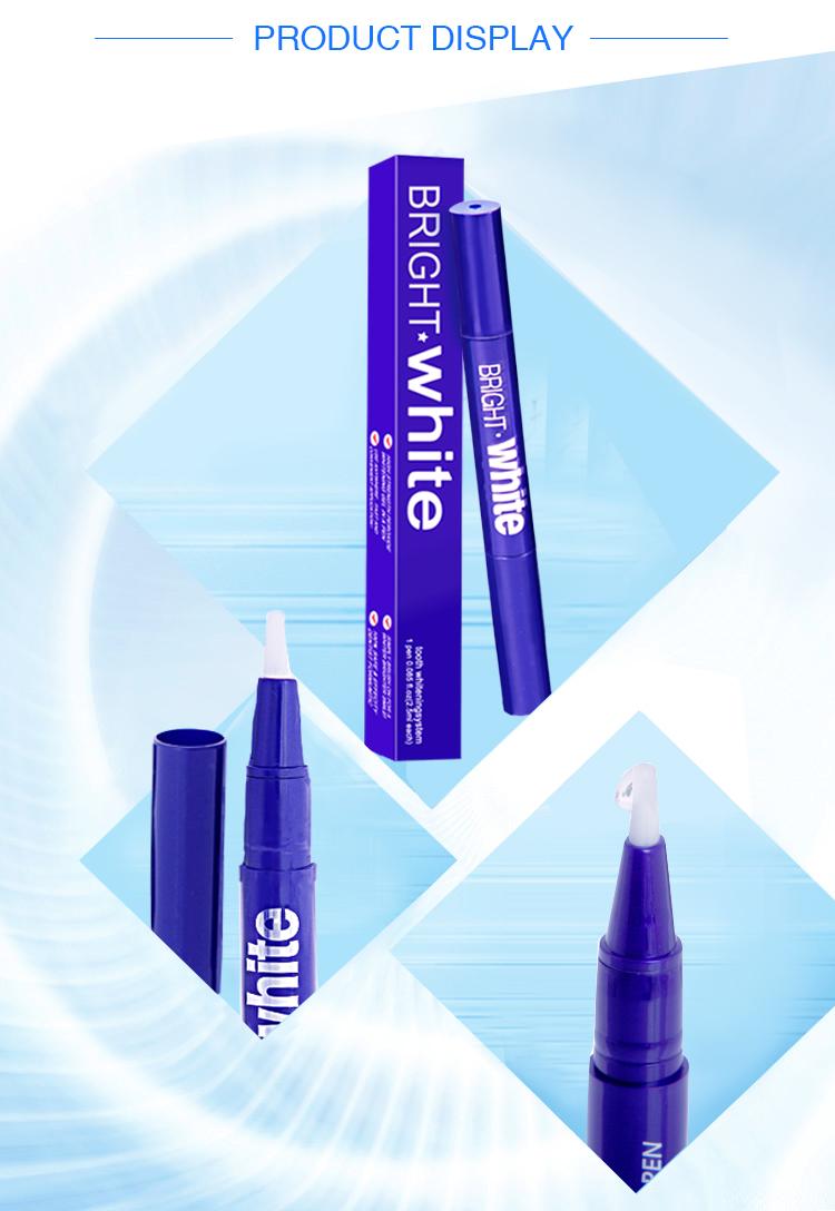Sampel Pena Disesuaikan Kualitas Tinggi Gigi Whitening Pen Gigi Pemutihan Pena Gigi Gel