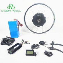 Greenpedel heavy duty strong power 48v 90v 1500w electric bike conversion kit with battery