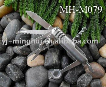 Multi knife in stainless steel