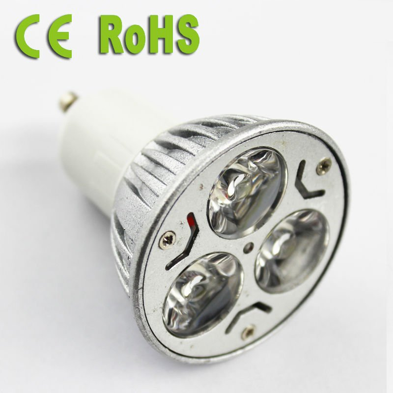 Factory Price Dimmable GU 10 MR16 Led Spot Light with CE FCC RoHS