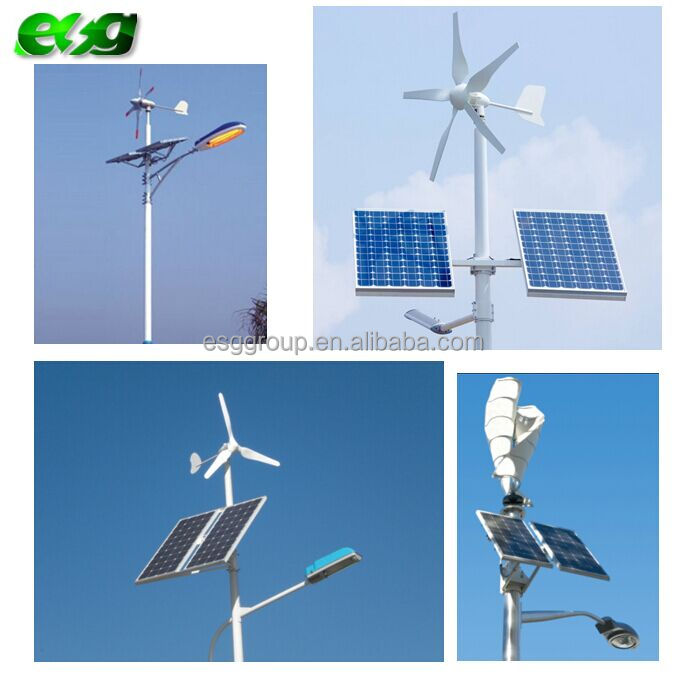 Aluminum Lamp Body Material and Street Lights Item Type solar led street light