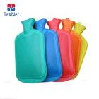 China Manufacturer Eco-Friendly Durable Round Shape Rubber Hot Water Bag