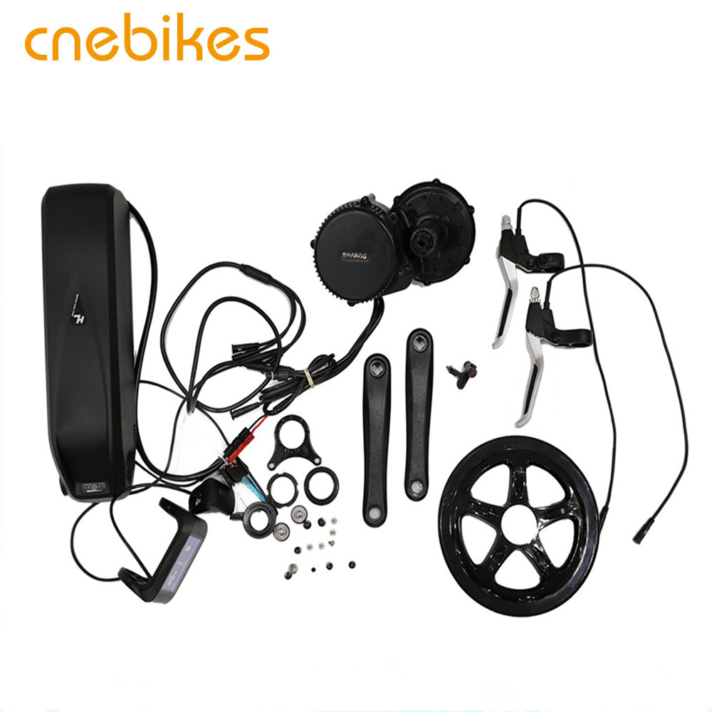 BAFANG BBS01 36V 250W 350w electric bicycle mid drive motor kit