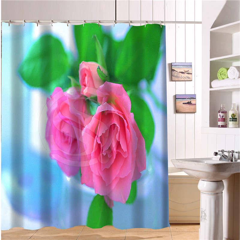 online kaufen gro handel duschvorhang rosa aus china duschvorhang rosa gro h ndler. Black Bedroom Furniture Sets. Home Design Ideas