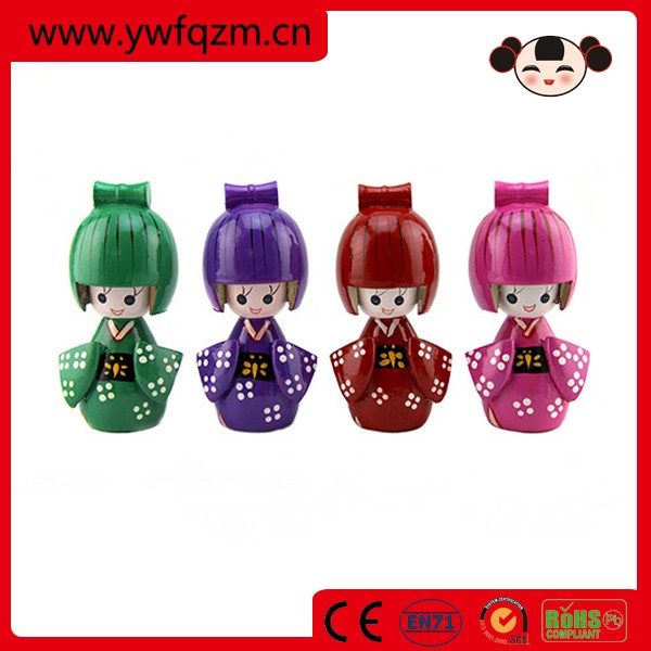 wooden crafts decoration japanese kokeshi doll shop