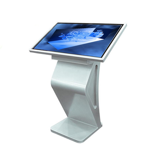 43 inch indoor lcd display windows interactive information multi touch screen advertising kiosk