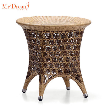 Best Sale Used Small Size Outdoor Indian Bamboo Round Side Table