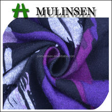 Mulinsen Textile Stretch Knitting Angora Japanese Printed Fabric for Making Sweater