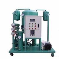Crude oil / used engine oil refining plant filtration machine, Great water removal and demulsifying efficiency