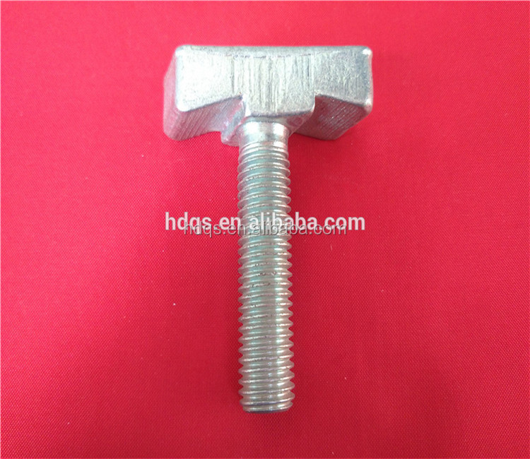 factory direct m12 special fasteners t bolt