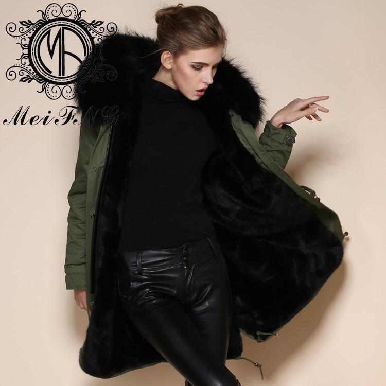 Jackets & Coats Basic Jackets Competent Fashion Hooded Faux Fur Coats Women Parka Overcoat Warm Leather Thick Jacket With Sash Women\s Coat Plus Size Customers First