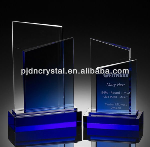 Bliss cheap Crystal glass Awards