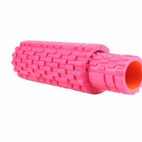 Mini EVA 2 in 1 foam roller for yoga exercise
