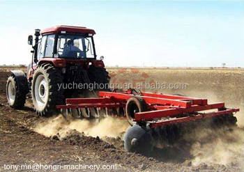 90-150hp Tractor Heavy Hydraulic Offset 24 Disk Disc Harrow 1BZ-2.5
