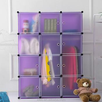 Portable Clothes Closet Storage, Baby Clothes Storage Cabinet (FH AL0039 12)