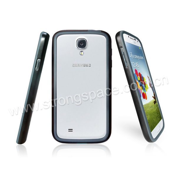 Colourful Samsung S4 TPU+PC frame bumper case