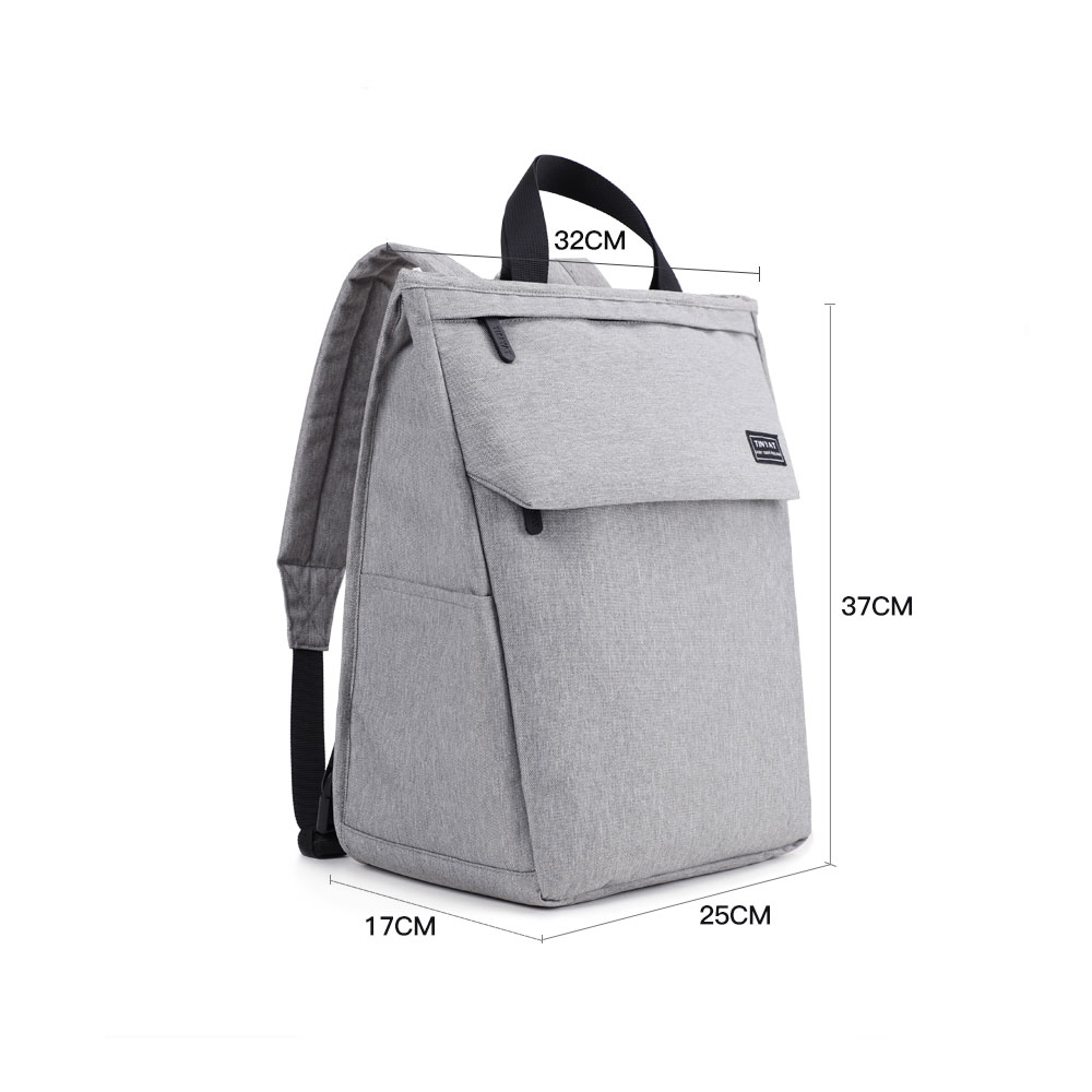 2018 New Arrival Canvas Laptop Backpack for School Students