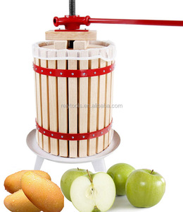 2018 new design manual 6L fruit crusher wine apple cider press
