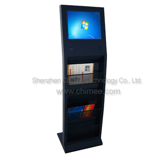 17inch lcd full hd 1080p display touch screen metal frame computer stand type