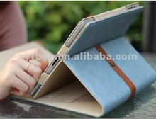 2012 kindle covers designer leather for ipad tablet case