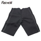 Men neoprene compression sweat slimming pants workout shorts