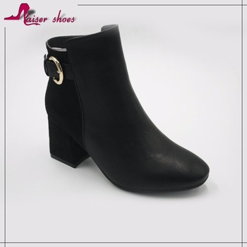 2538e181ef72 Low price wholesale thigh high heel lady woman chelsea ankle boots shoes  women leather short boot