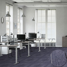 Useful plain color indoor office floor carpet squares