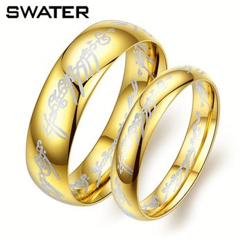 New Innovative Products Gold Plated Lord The Rings e Ring