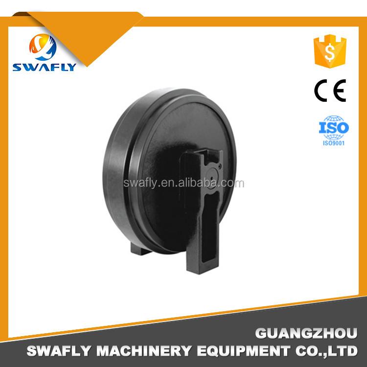 Shopping Online Excavator Undercarriage/Bulldoze Parts Front Idler Roller E200B 113-2907