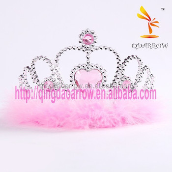 Factory Cheap Plastic Wholesale Tiara Crown for Kids
