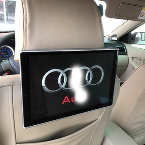 Car Android 6.0 Rear Seat Entertainment System For Audi A6 Headrest Monitor With Wifi DVD Player Auto TV Screen 11.8 Inch
