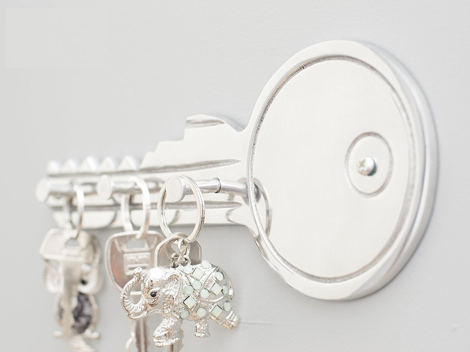 Get Quotations Decorative Key Shaped Wall Holder By Comfify Hand Cast Aluminum Metal Hooks