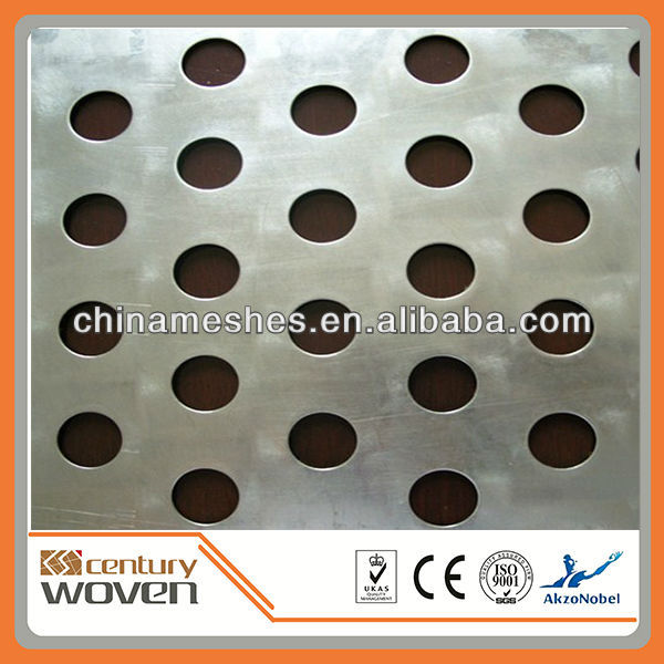 aluminum decorative punched hole sheet