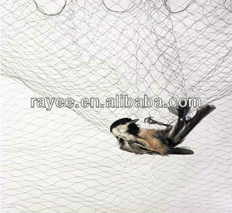 100%HDPE Agricultural anti bird netting/orchard tree hail protection net, bird nets for catching birds