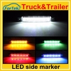 Auto accessory factory price 12v/24v truck lights led side marker