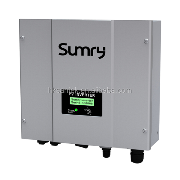 SMY SS Series Pure Sine Wave DC AC Grid Tie Solar Inverter 1-5KW With 5/10 Years Guarantee