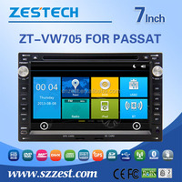 7 inch car dvd player for VW Passat B5 Golf 4 Polo Bora car gps player 2 din car radio car audio with GPS DVD FM/AM SWC USB/SD