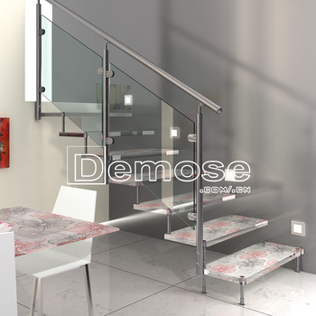 Superbe Brand New Floating Staircase Cost With Safety Glass