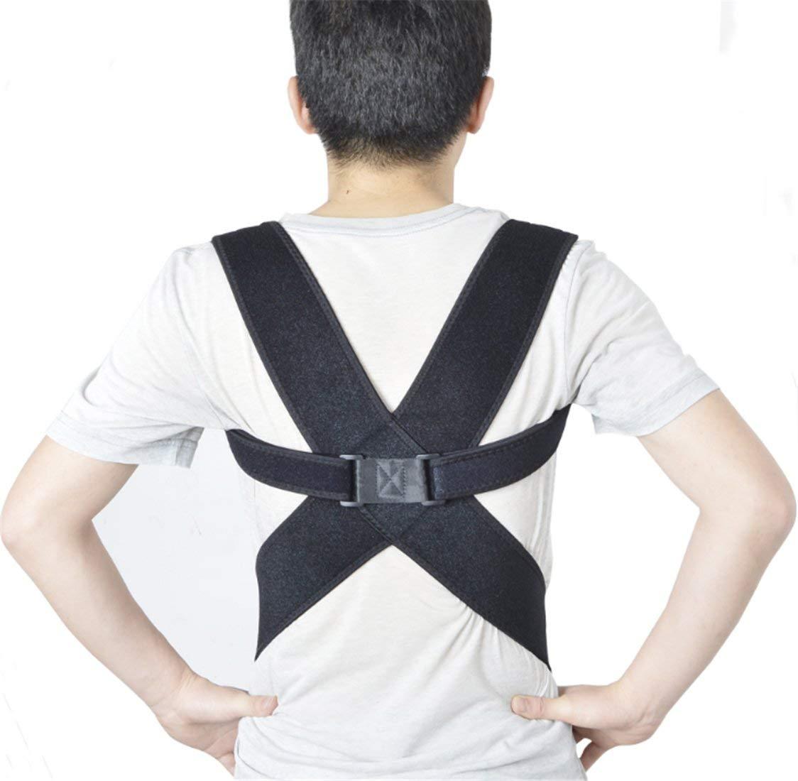 Yeying123 Humpback Correction Belt Adult Spine Back Correction Adjustable Correction Hunchback Correction Belt,L