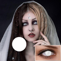 2019 Freshgo Hot Selling Halloween Colored Lens Cheap Cosplay Sharingan Naruto Cat Eye Crazy Contact Lenses A