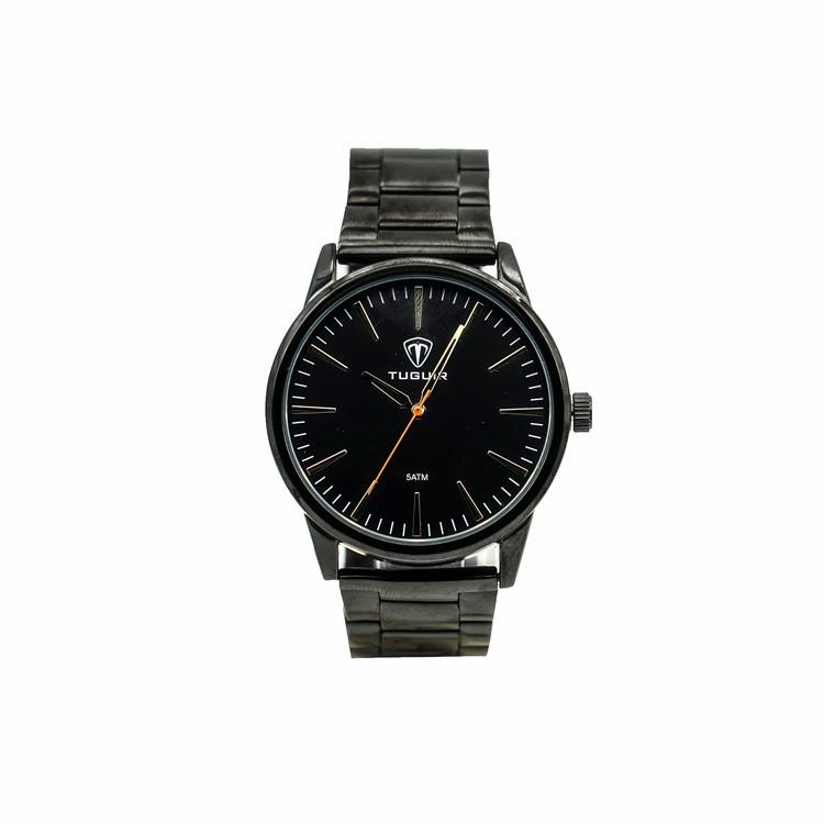 31ed34009525e Pas cher prix tuguir marque en acier inoxydable bande montre à quartz pour  les hommes