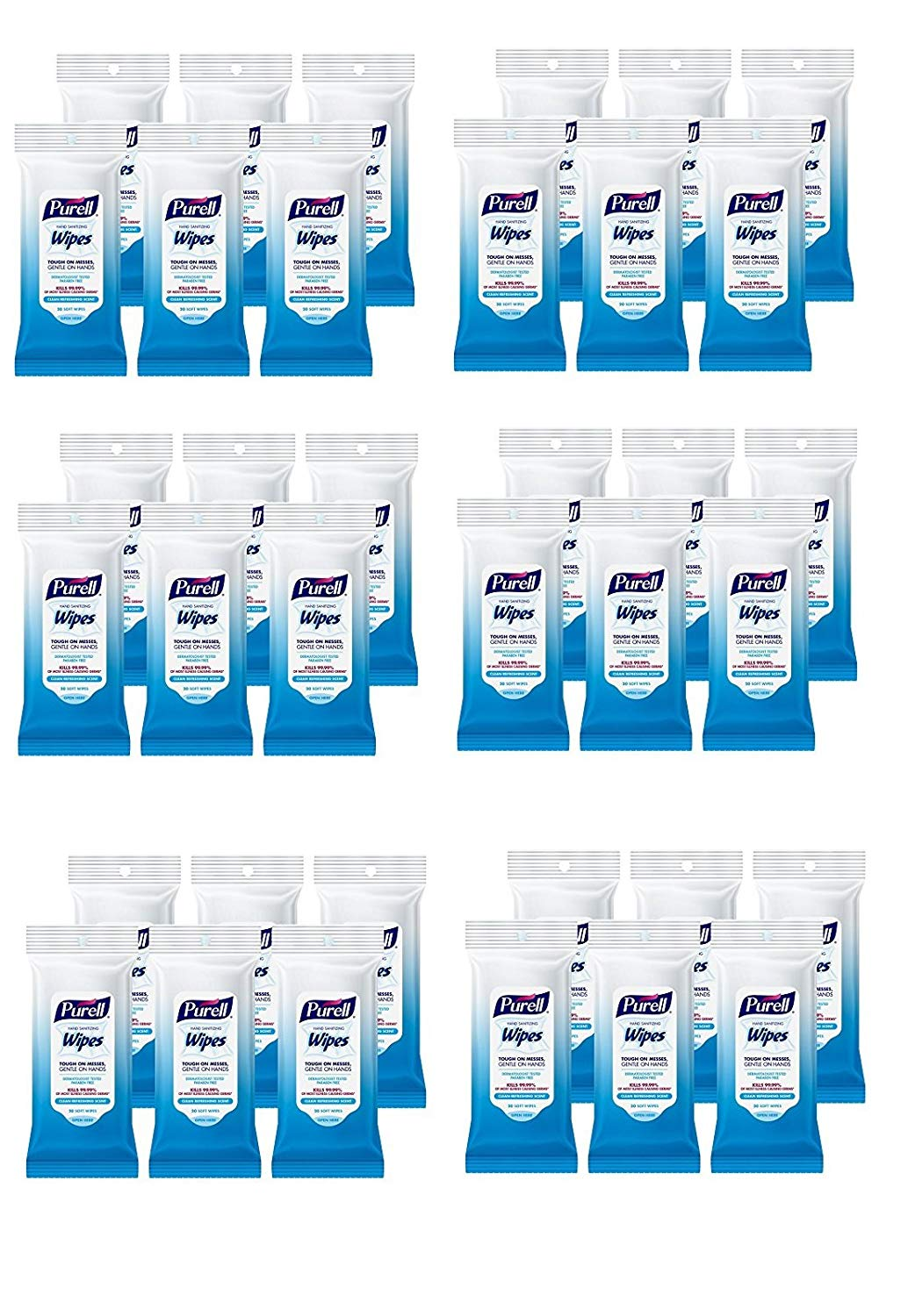 Buy Purell Hand Sanitizing Wipes - Clean Refreshing Scent, Non