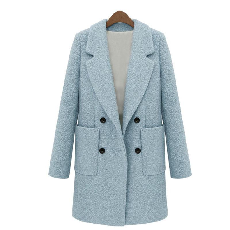 23ed3c0528e Get Quotations · Hot Sale Fashion 2015 High Quality New Autumn Winter Slim  Long Woolen Coat Women Elegant Temprament