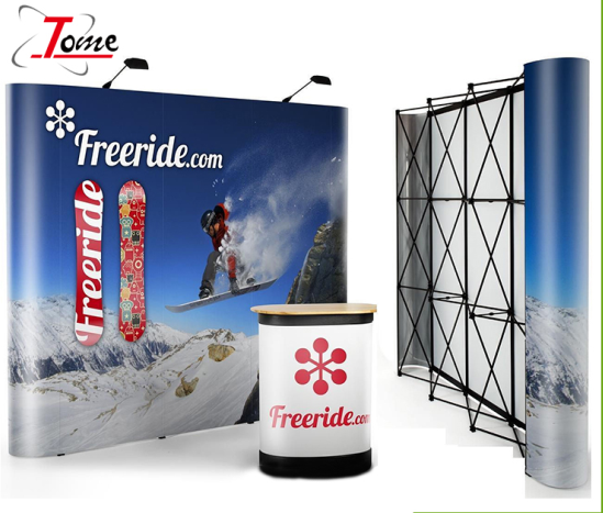 Magnetic pop up display stand banner stand Hot-Selling di Vendita Al Dettaglio/Commercio All'ingrosso Pop Up Banner Per La Pubblicità