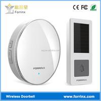 Forrinx D1 Unique Round 52 Ringtones IP55 Office Wireless Door Chime for Business