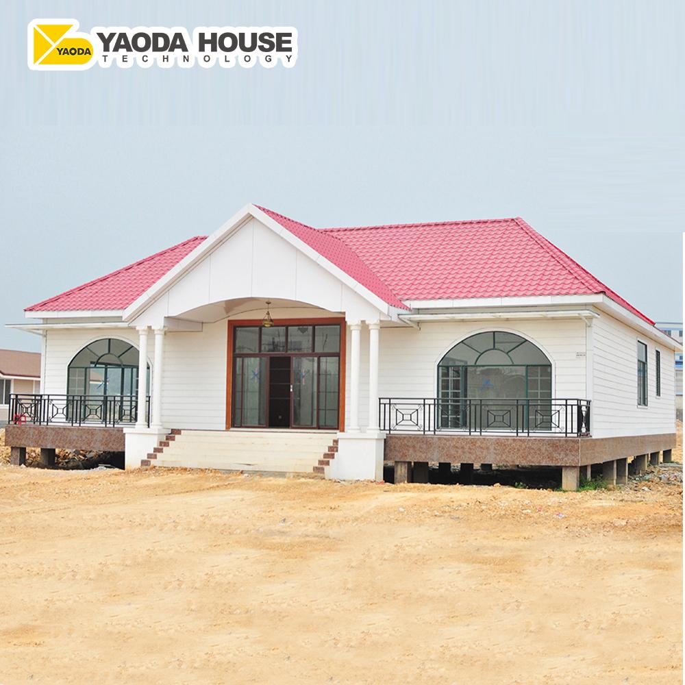 Prefabricated Luxury Villa Steel Building Luxury Multifunctional Prefab  Family Homes Villa House In Jamaica West Indies