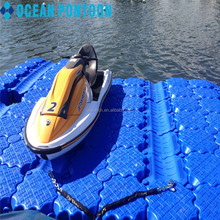 2017 hot style jet ski floating dock With Good Service