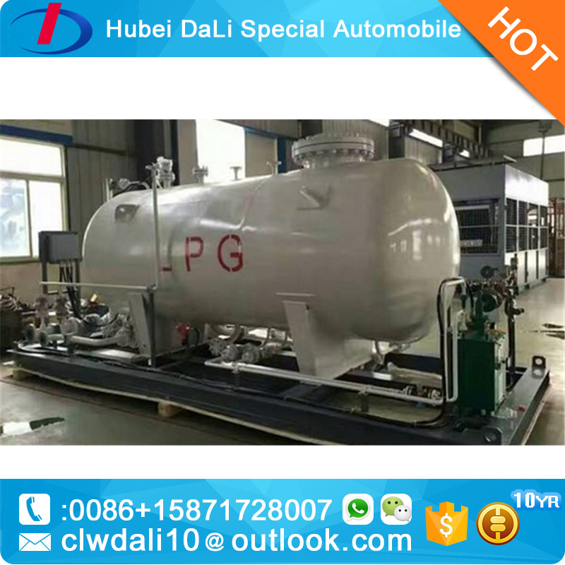 factory price LPG skid tanks Fuel gas station 10CBM for sale