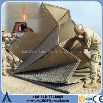 High quality fire-retardant Hesco Barrier with factory price