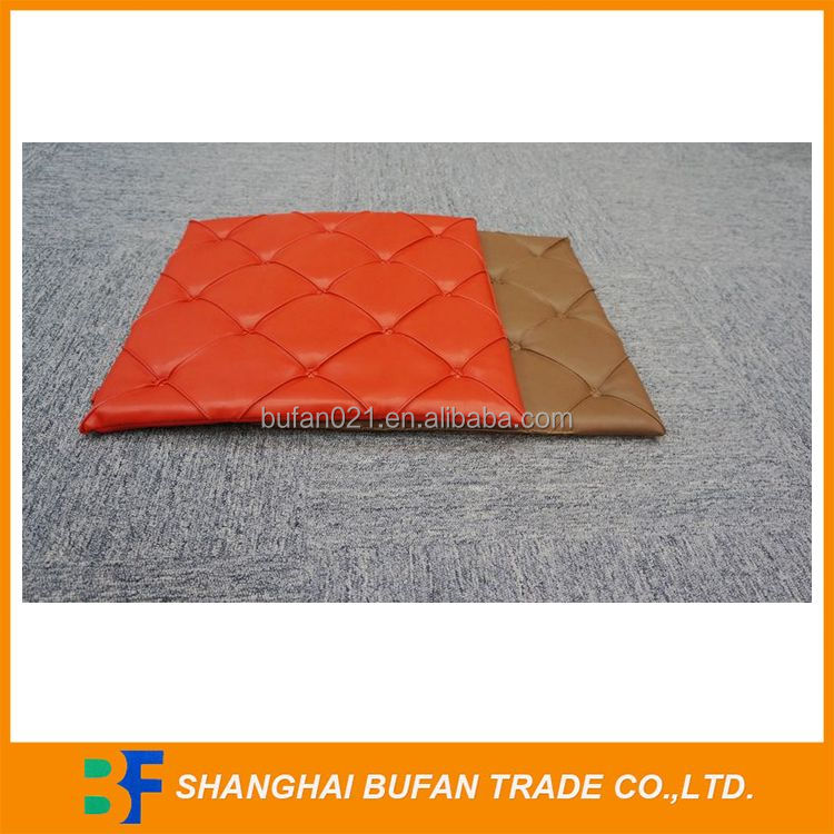 Fine quality competitive seat cushion car leather
